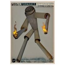 PosterFormance Dydo Poster Gallery Jacek Staniszewski Polnische Plakate