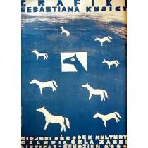 Grafiken von Sebastian Kubica Monika Starowicz Polnische Plakate