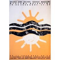 Kindermalereiausstellung, Zacisze Monika Starowicz Polnische Plakate