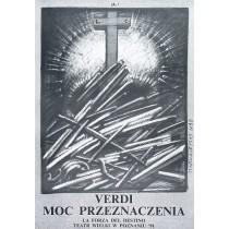 Macht des Schicksals Franciszek Starowieyski Polnische Plakate