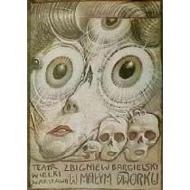 Im kleinen Landhaus Franciszek Starowieyski Polnische Plakate