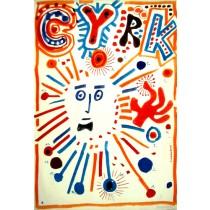 Zirkus  Franciszek Starowieyski Polnische Plakate