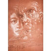 Bildnis des Dorian Gray  Franciszek Starowieyski Polnische Plakate