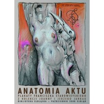 Anatomie des Akts De profundis  Franciszek Starowieyski Polnische Plakate