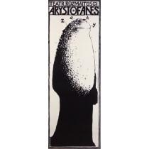 Frösche Aristophanes  Franciszek Starowieyski Polnische Plakate