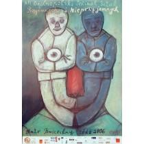 Angenehme und unangenehme Theaterstücke Stasys Eidrigevicius Polnische Plakate