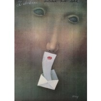 Verliebten Stasys Eidrigevicius Polnische Plakate