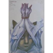 Ermida oder die Hirtenprinzessin Stasys Eidrigevicius Polnische Plakate