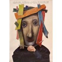 Krakauer Treffen mit spanischer Kultur 2. Stasys Eidrigevicius Polnische Plakate