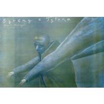 Sirenen des Titan Stasys Eidrigevicius Polnische Plakate