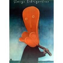 Stasys-Ausstellung in BWA-Galerie Kłodzko Stasys Eidrigevicius Polnische Plakate