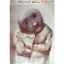 Onkel Wania Powszechny-Theater Warszawa Stasys Eidrigevicius Polnische Plakate