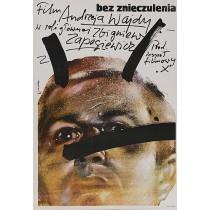Ohne Betäubung Waldemar Świerzy Polnische Plakate