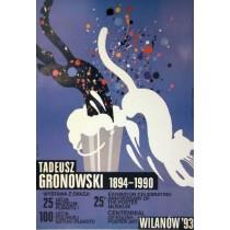 Tadeusz Gronowski 1894-1990 Waldemar Świerzy Polnische Plakate