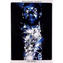 John Coltrane - Jazz Greats Waldemar Świerzy Polnische Plakate