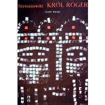 König Roger Karol Szymynowski Waldemar Świerzy Polnische Plakate