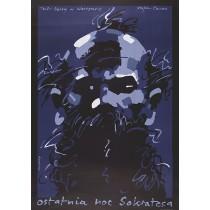 Letzte Nacht von Sokrates Waldemar Świerzy Polnische Plakate