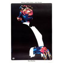 Ray Charles - Jazz Greats Waldemar Świerzy Polnische Plakate