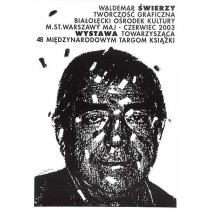 Grafikwerke schwarz Waldemar Świerzy Polnische Plakate