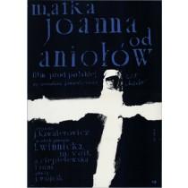 Mutter Johanna von den Engeln Jerzy Kawalerowicz Waldemar Świerzy Polnische Plakate