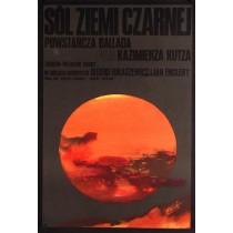 Salz der schwarzen Erde Kazimierz Kutz Waldemar Świerzy Polnische Plakate