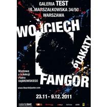 Wojciech Fangor Plakat Test-Galerie  Waldemar Świerzy Polnische Plakate