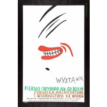 Schönheit und Komfort jeden Tag  Henryk Tomaszewski Polnische Plakate