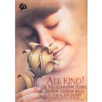 Ale Kino! 19. Kinderfilmfestiwal Wiesław Wałkuski Polnische Plakate