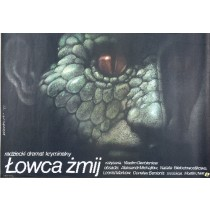 Snake Catcher Vadim Derbenyov Wiesław Wałkuski Polnische Plakate
