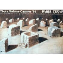 Paris, Texas Wim Wenders Wiesław Wałkuski Polnische Plakate