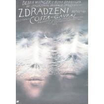 Verraten Costa-Gavras Wiesław Wałkuski Polnische Plakate