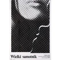 Great Solitary Iulian Mihu Mieczysław Wasilewski Polnische Plakate