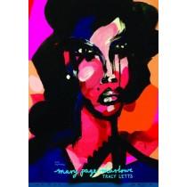 Mary Page Marlowe Tracy Letts Maja Wolna Polnische Plakate