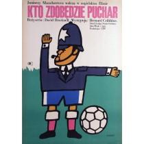 Cup Fever David Bracknell Maciej Żbikowski Polnische Plakate