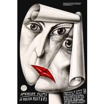 American films in Polish posters Leszek Żebrowski Polnische Plakate