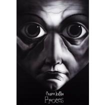 Prozess Franz Kafka Leszek Żebrowski Polnische Plakate