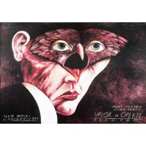 Phantom der Oper Leszek Żebrowski Polnische Plakate
