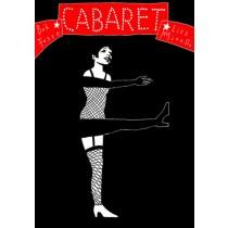 Cabaret Bob Fosse Leszek Żebrowski Polnische Plakate