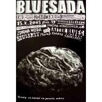 Bluesada - Bluesfestival  Polnische Plakate