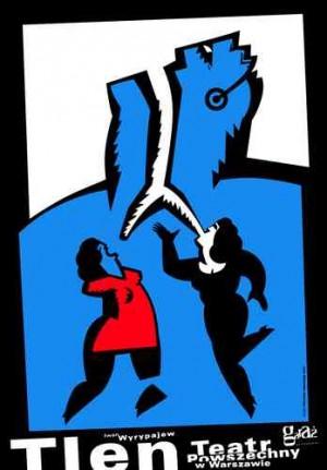 Sauerstoff Mirosław Adamczyk Polnische Plakate