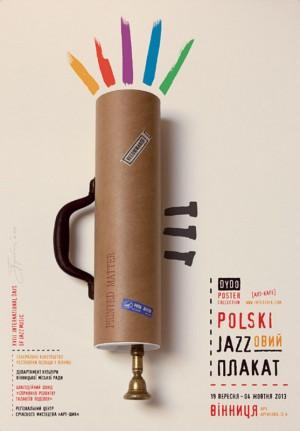 Polnische Jazz Plakate Tomasz Bogusławski Polnisches Musikplakat