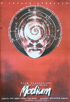 Medium Jacek Koprowicz Witold Dybowski Polnische Plakate