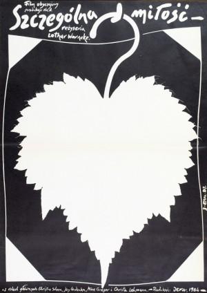 Arithmetik der Liebe Jakub Erol Polnische Plakate