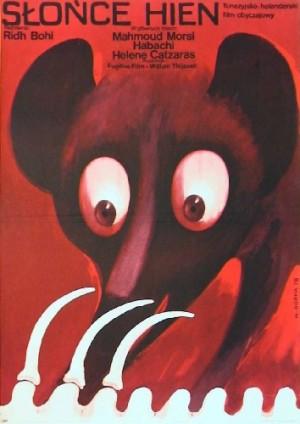 Sonne der Hyänen Ridha Behi Wiktor Górka Polnische Plakate