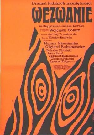 Anruf Wojciech Solarz Wiktor Górka Polnische Plakate
