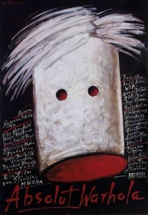 Absolut Warhola Stanisław Mucha Mieczysław Górowski Polnisches Filmplakat