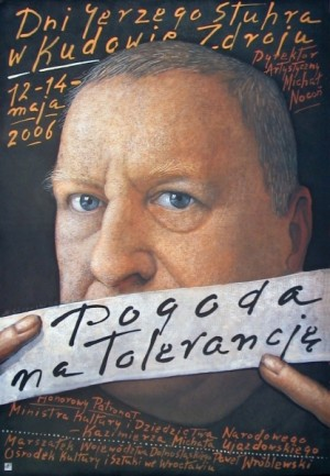 Jerzy-Stuhr-Tage Mieczysław Górowski Polnisches Plakat