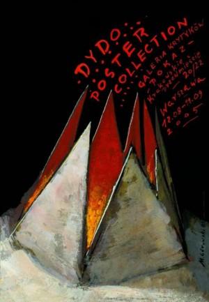 Kritikergalerie - Dydo Poster Collection Mieczysław Górowski Polnisches Ausstellungsplakat