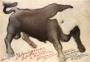 Begegnung mit der Kultur Spaniens Mieczysław Górowski Polnisches Plakat