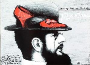 Große Posterdesigner: Henri de Toulouse-Lautrec Mieczysław Górowski Polnisches Ausstellungsplakat